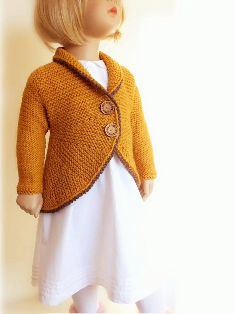 8c5e5a9860 Hand Knit Sweater Girls Knit Jacket Cardigan Custom Knit