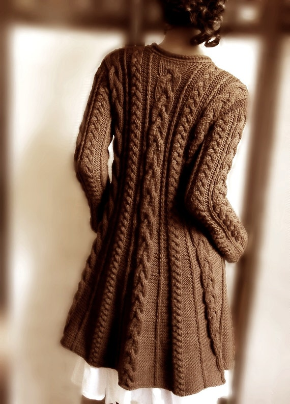 Sweater Sweater Hand Coat Wool Knit Many Available Knit Cable Cable Colors qTB0tHPwxB