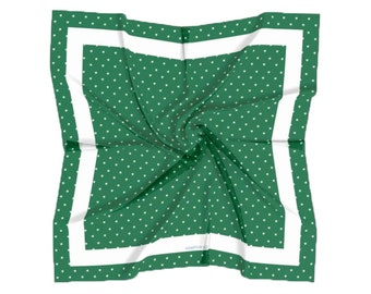 Lily Fields Satin Charmeuse Square Scarf