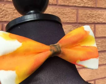 Sunflower Hand Painted Bow Tie by Julie Riisnaes