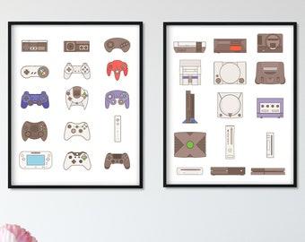 Nintendo Art Etsy