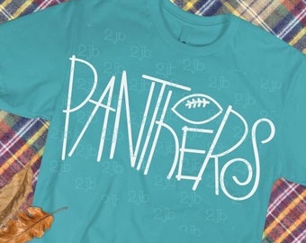 panthers Football SVG, panthers SVG, panther Football SVG, panthers shirt image, panther football tshirt design, cut file, hand-lettered