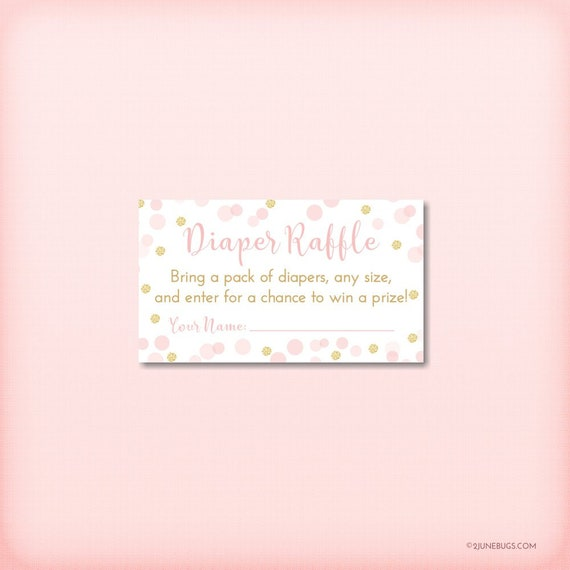 photo relating to Diaper Raffle Tickets Printable named Confetti Diaper Raffle Little one Shower Recreation, Crimson Gold Glitter