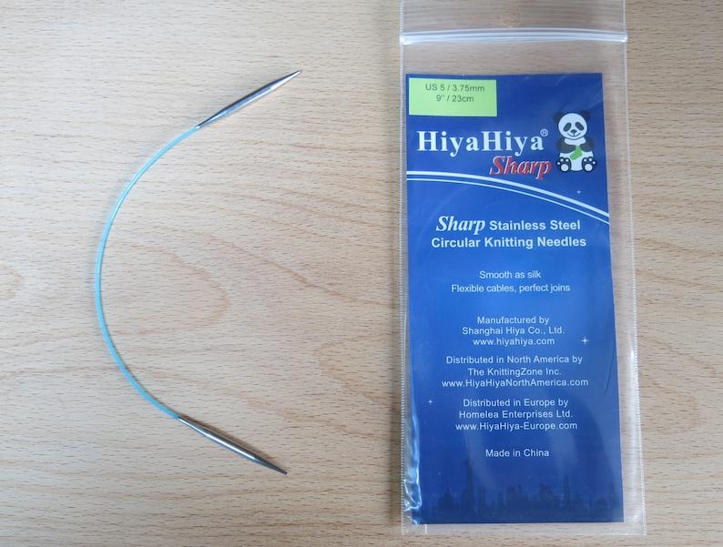 24 INCH 3.75 MM CIRCULAR KNITTING NEEDLE HIYA HIYA SHARP SIZE 5 60 CM