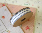 Dark Blue 3 Stripe ribbon