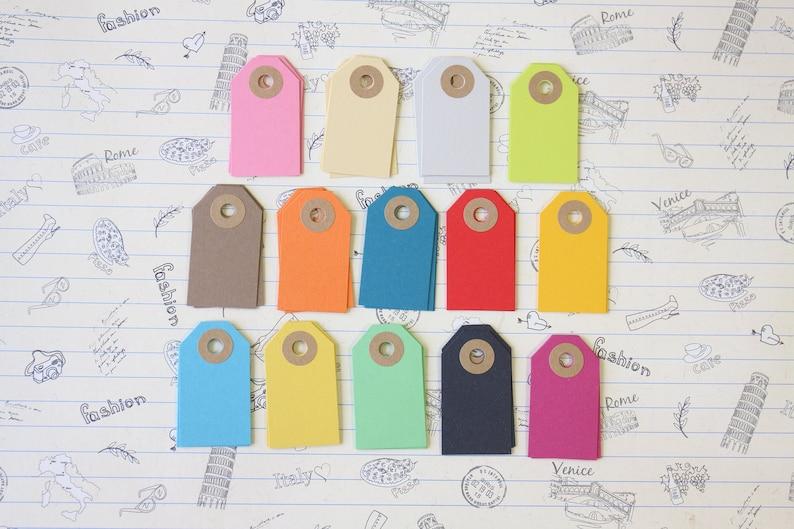 Pistachio Green handmade luggage tags