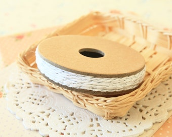 SILVER METALLIC Divine Twine 20yd Reel 4-ply cotton bakers twine string