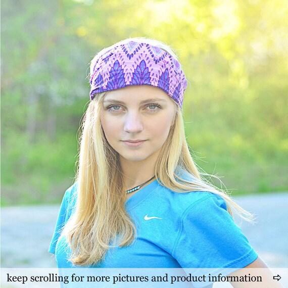 Boho Headband Purple Headscarf Gypsy Headband Gypsy Hair  fa500cc21a8