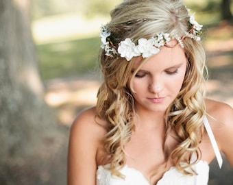 Wedding Hair Wreaths Tiaras Etsy No
