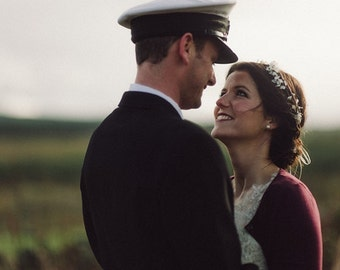 ivory rustic flower crown, bridal crown, Flower crown, rustic head wreath, wedding headband, bridal hair, wedding crown