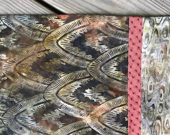 Arrowhead Shield pattern Batik Neutrals Brown Pillowcase  Gift for Him Anniversary Gift Den Decor Man Cave Decor Fathers Day Gift
