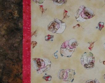 Beatrix Potter Mrs. Hedgehog with Birds Mice