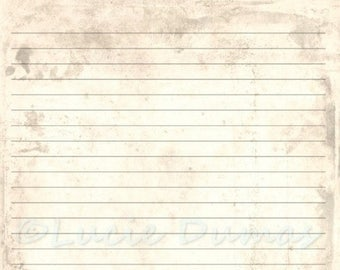 Journal template etsy digital printable journal page antique background stationary 8x10 download scrapbooking paper template by ldumas maxwellsz
