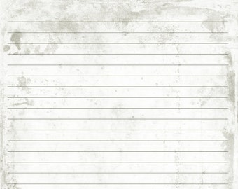 Digital Printable Journal Page Antique Background 3 Stationary Etsy