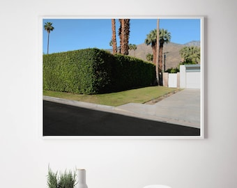 Contemporary Photography Modern Photography Fine Art Photography of Mid Century Neighborhood in Palm Springs