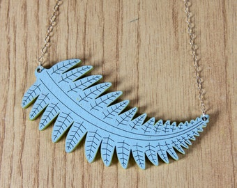 Feather Leaf Necklace