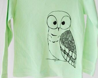 Girls Owl Shirt