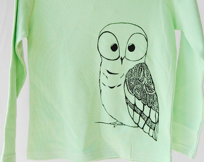 Girls Owl Shirt