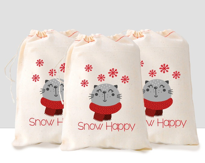 Set of 3 Winter Gift Bag