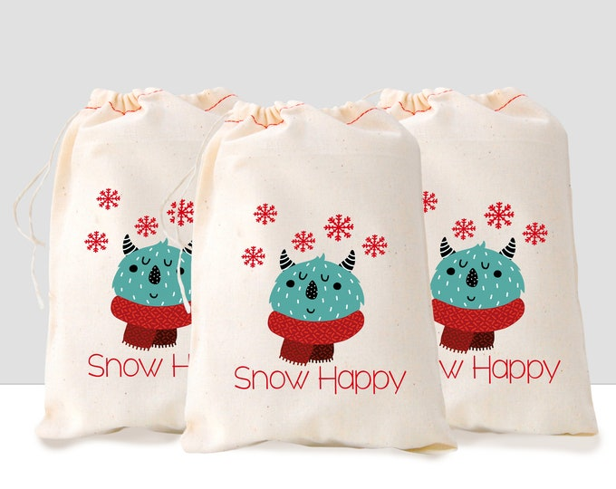 Snow Happy, Monster Gift Bag