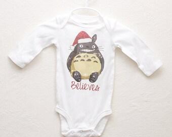 Totoro Christmas Shirt
