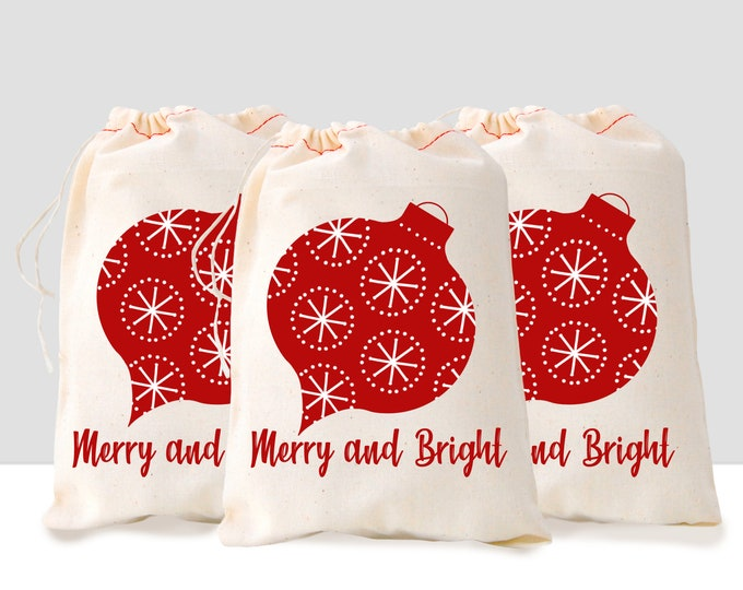 Set of 3 Christmas Gift Bag