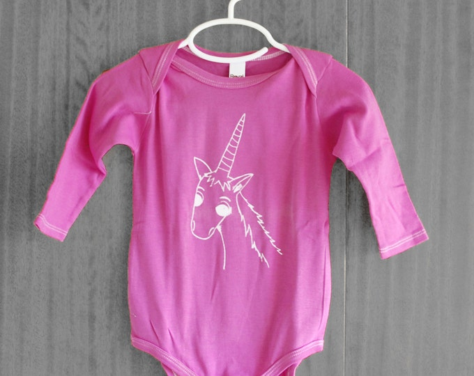 Adorable Unicorn Bodysuit