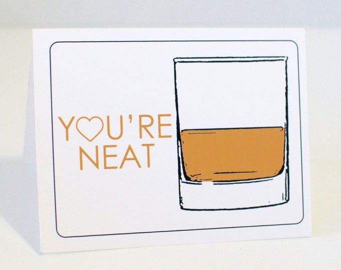 Funny Whiskey Lovers Card