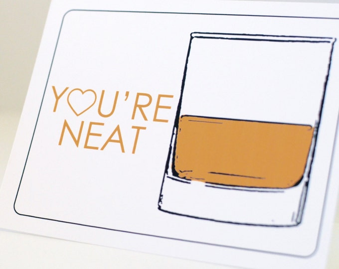 Funny Whiskey Card
