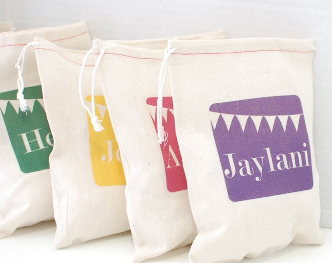 Custom Birthday Party Gift Bags