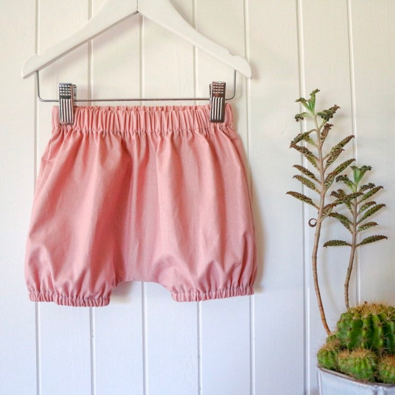 Birthday outfit Baby girl bloomers Linen diaper covers Linen bloomers soft pink Linen Nappy cover Unisex Baby shower gift