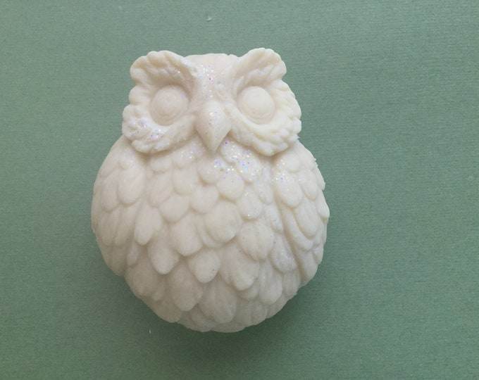 Featured listing image: Snowy Owl Goat Milk Soap