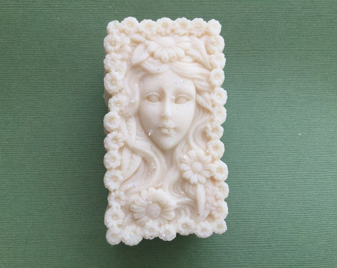 Featured listing image: Snow Faerie Goats Milk Soaps