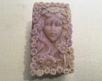 Orchid Flower Faeries Goats Milk Soaps