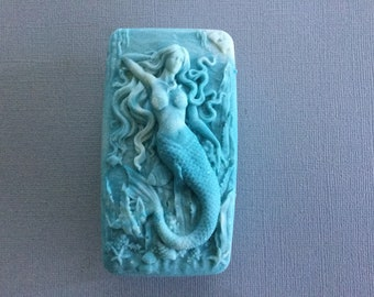 Orchid and Jade Mermaid Goats Milk Soaps