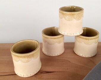 Ceramic Espresso Cup Set