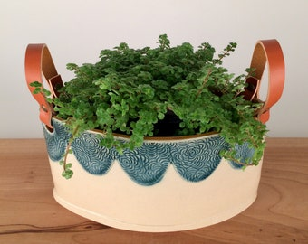 Trough Planter Centerpiece