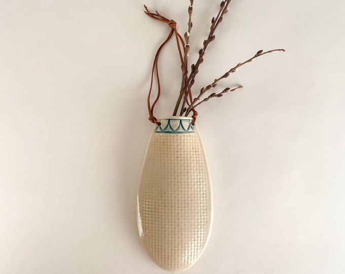 Featured listing image: Wall Hanging Flower Vase