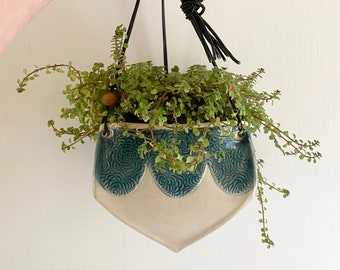 Decorative Ceramic Hanging Planter