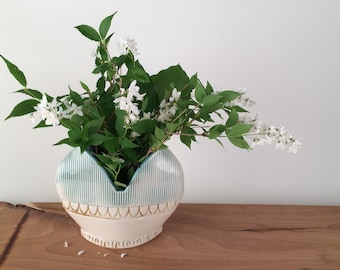 Modern Heart Shaped Flower Vase