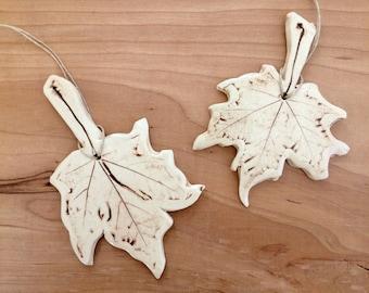 Maple Leaf Ornament