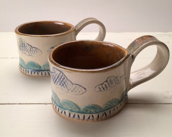 Ceramic Coffee Mug Set
