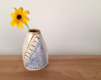 Small Decorative  Ceramic Bud Vase