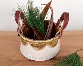 Ceramic Storage Basket