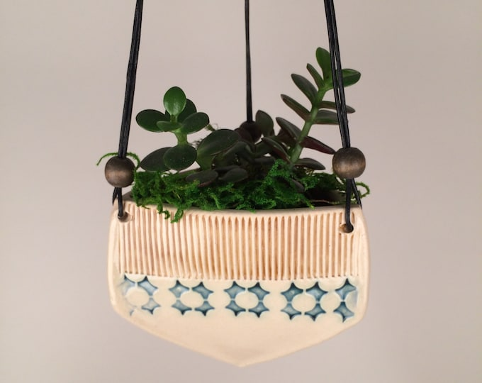 Featured listing image: Small Triangular Hanging Planter