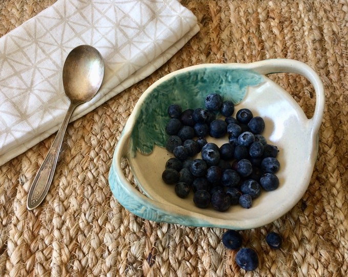Featured listing image: Handmade Berry Bowl Strainer