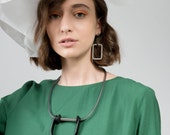 Industrial Jewellery Sian Necklace | Geometric Collection | Fashion Jewelry | Contemporary Necklace | Modern | Hand Made | Gift For Her