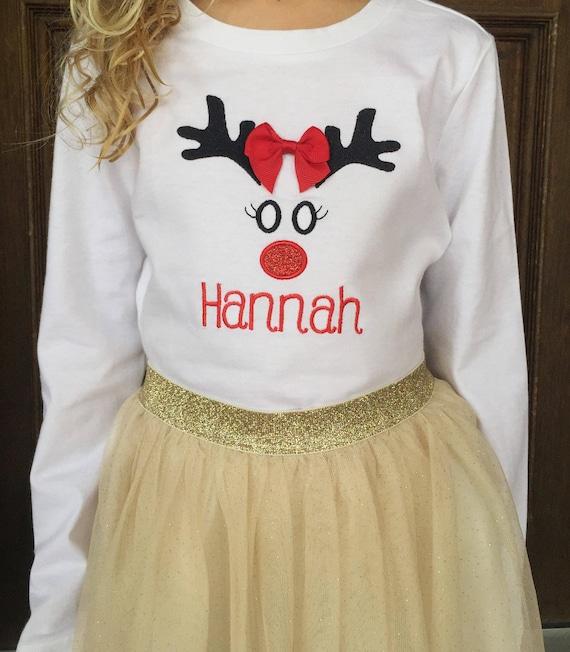 image 0 - Girls Christmas Shirts
