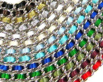 Set of (10) 13 inch Nickel-free purse chain(TM) - ANY COLOR