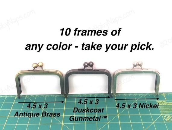 10 frames of 4.5x3 wallet frames purse frame color of your | Etsy